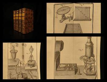 1749 Physics Experiments Science Electricity Optics