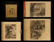 1881 1st ed Edgar Allen POE The Bells Esoteric Occult