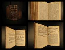 1693 English Latin Dictionary William Robertson