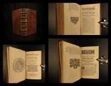 1699 Julius Caesar WAR Commentaries Military Tactics
