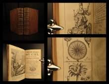 1740 Occult Astronomy Astrology Cosmogony Egyptian