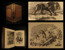 1855 1ed Romance of Hunting Perils Pleasures Hunter
