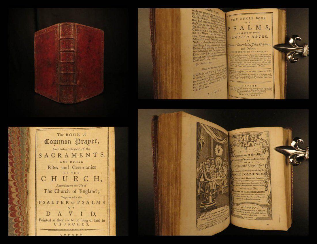 72 BEAUTIFUL Book of Common Prayer Bible Psalms