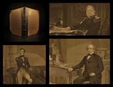 1873 1st ed Portrait Gallery Illustrated Jefferson