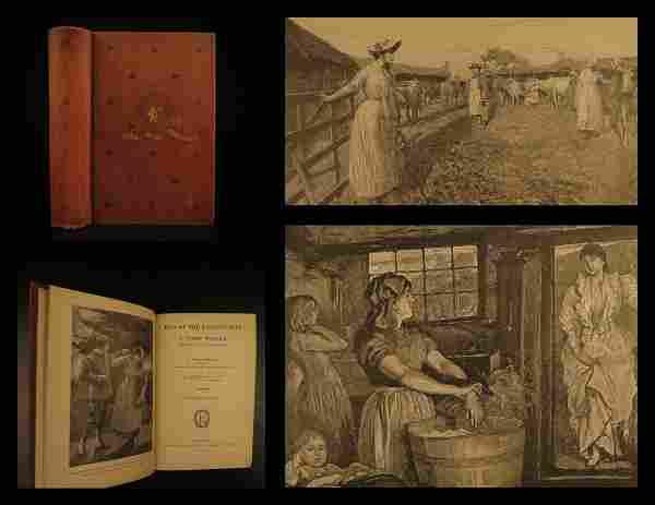 1892 1ed Tess d'Urbervilles Thomas Hardy Illustrated