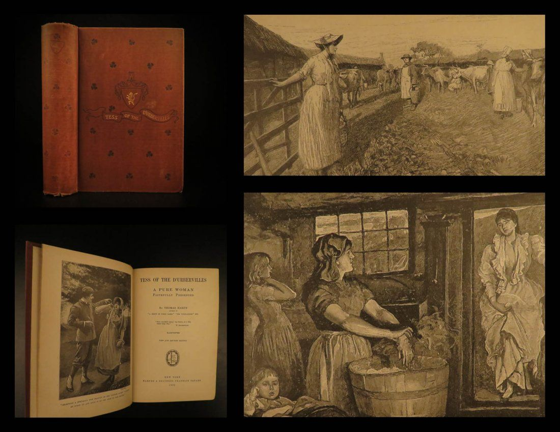 1892 1ed Tess d'Urbervilles Thomas Hardy Illustrated