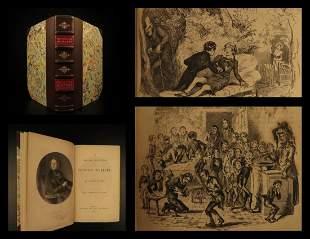 1839 1st Charles Dickens Nicholas Nickleby Novel