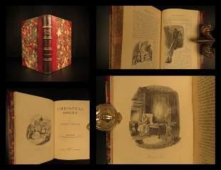 1874 Charles Dickens Christmas Carol FAMOUS