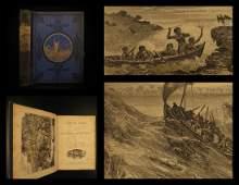 1893 Captain Cook Voyages Australia New Zealand Hawaii