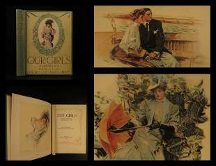 1907 AMERICAN GIRL Our Girls Poems America Poetry