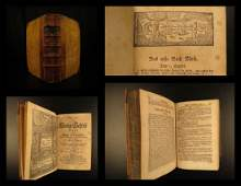 1767 German Martin Luther BIBLE Biblia Speyer Germany