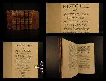 1780 CRUSADES History Knights Templar Hospitaller
