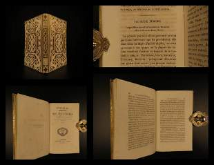 1856 BEAUTIFUL BINDING History of Inventions Creation