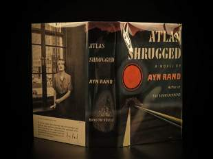 1957 TRUE 1st printing Atlas Shrugged Ayn Rand