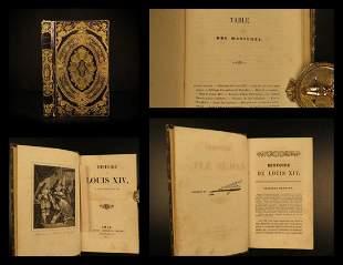 1844 BEAUTIFUL BINDING Louis XIV France