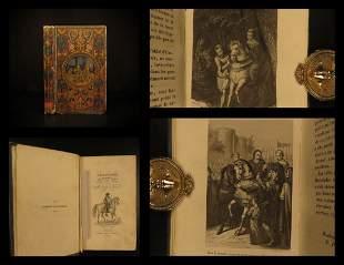 1844 BEAUTIFUL BINDING Life of Rudolf I of Habsburg