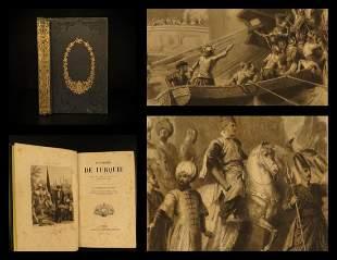 1856 1st ed History of Turkey Ottoman Empire Barthelemy
