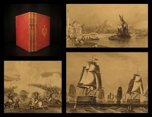 1860 Crimean War RUSSIA Illustrated Battle Scenes