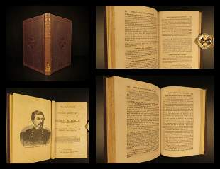 1864 1st ed Civil War George McClellan Biography Union