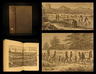 1866 1st ed Livingstone Expedition to ZAMBESI Africa