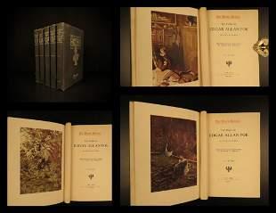 1903 Edgar Allan Poe Works Raven Bells OCCULT Horror