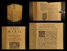 1737 Life of MARY Jesuit Catholic Liturgy Mariology