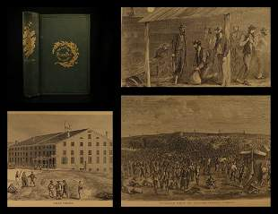 1868 Confederate Prisons Civil War Torture Union