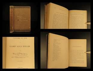 1875 Civil War Life in Camp & Field Taylor