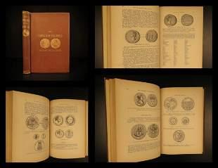 1876 1ed COINS & World Numismatics Ancient ROME Medals