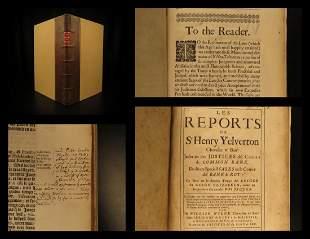 1674 Queen Elizabeth LAW Reports of Henry Yelverton