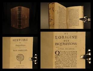 1693 1ed Spanish Inquisition History RARE