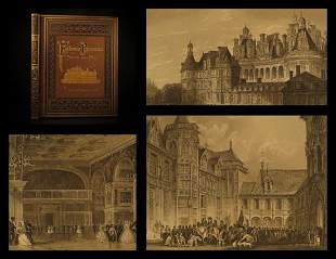 1879 1ed FRANCE Illustrated PARIS Cathedrals Versailles