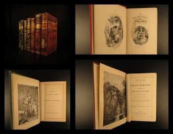 1880 Rare Book Lot Robert Burns Coleridge Moore Goethe