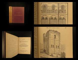 1896 Gothic Architecture Parker Norman Keep Period