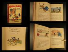 1936 1ed DISNEY Mickey Mouse & Horse Tanglefoot Color