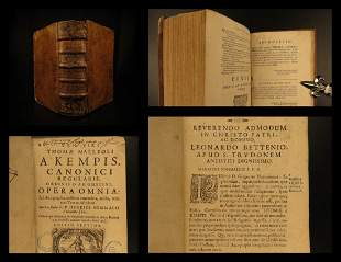 A H1680 Thomas a Kempis Complete Works