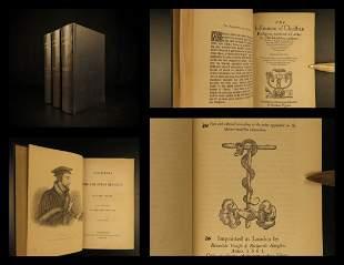 1845 John Calvin Institutes of Christian Religion