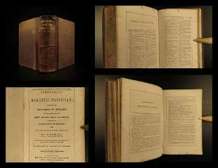 1861 Pulte Homeopathic Physician MEDICINE Surgery