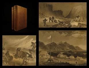 1856 1st ed Elisha Kane Arctic Explorations Voyages