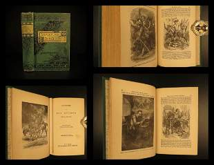 1880 Don Quixote Adventures Mancha Cervantes English