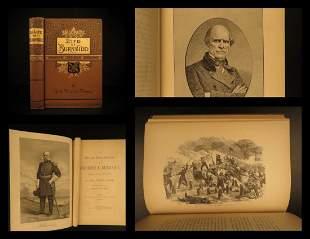 1882 1st ed CIVIL WAR Life of General Ambrose