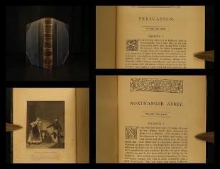 1882 Jane Austen Novels Northanger Abbey & Persuasion