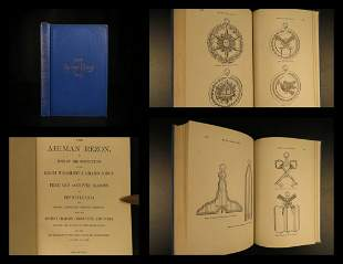 1914 Ahiman Rezon Freemasonry Masonic Constitution