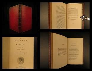 1799 BINDING Juvenal Persius SATIRES Stoic Philosophy