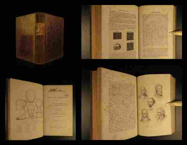 1839 1st ed Phrenology Occult Psychology George Combe