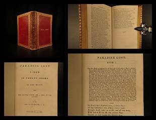 1839 Paradise Lost John Milton English Poetry Allegory