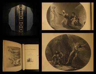 1840 John Bunyan Pilgrim's Progress Illustrated Demons