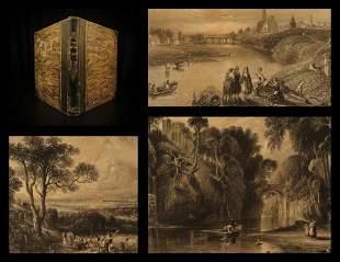 1840 1ed Land of Robert Burns SCOTLAND Illustrated