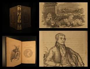 1849 1ed Lives of Benefactors George Washington Galileo