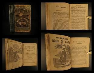 1850 Astrologer's Dream Book MAGIC Occult Fortune